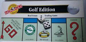 VTG-Monopoly-Golf-Edition-1996-Authorized-Version-Brand-New-Sealed-PGA-LPGA