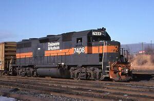 Original Slide: D&H Delaware & Hudson GP39-2 7408 - ex Guilford