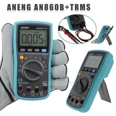 Digital Multimeter 6000 Counts AC/DC Ammeter Voltmeter Temperature Meter AN860B+
