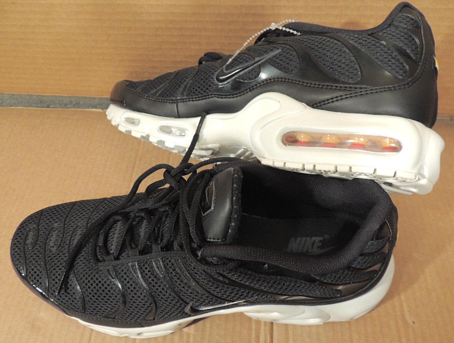 new arrival e8ccb 75742 Nike Air Max Plus Breeze TN Running shoes Black Black Black White  898014-001 Size