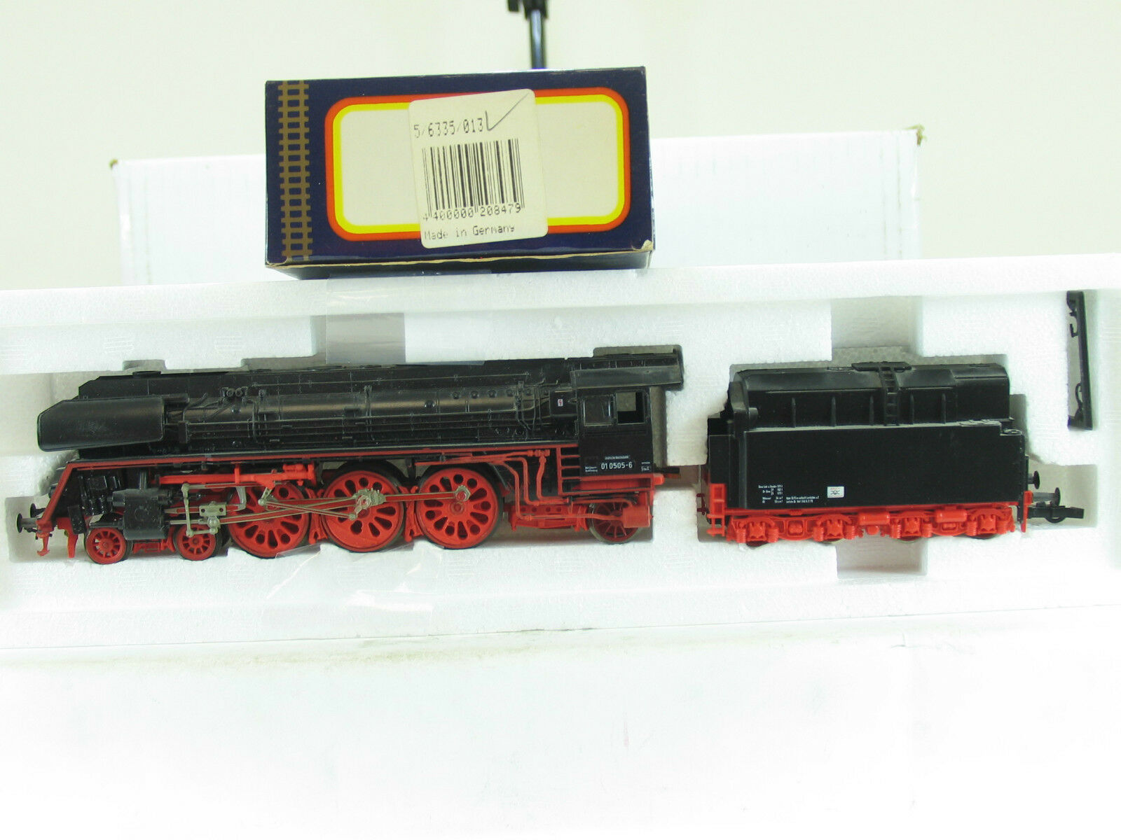 Piko h0 5 6335 – máquina de vapor br 010505-6 del Dr b1769