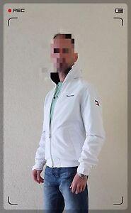 Details zu TOMMY HILFIGER Yacht Jacket Jacke Übergangsjacke Windbreaker Coat weiß