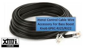 Xtenzi Control Cable Wire Accessory For Bass Boost Knob