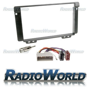 Land-Rover-Freelander-Stereo-Radio-Fitting-KIT-Fascia-Panel-Adapter-Double-Din