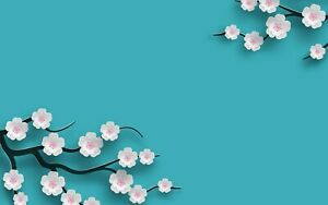 A1-Chinese-Cherry-Blossom-Poster-Art-Print-60-x-90cm-180gsm-Cool-Gift-15104