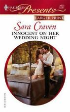 Innocent on Her Wedding Night # 2670 by Sara Craven Larger Print