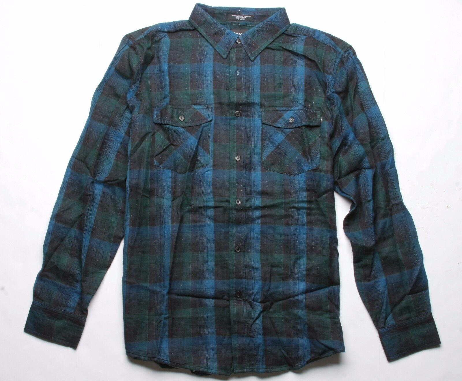 Matix Newfound Camicia di Flanella (L) Nero