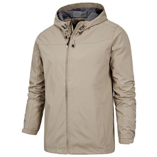 Mens Winter Warmer Jacket Coat Fleece Lined Thick Waterproof Mountain Overcoat