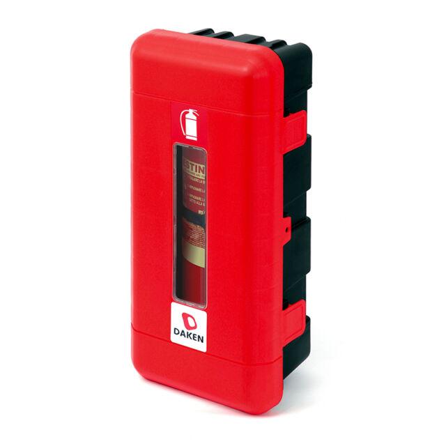 DAKEN Feuerlöscher-Schutzkasten für 6kg Feuerlöscher Schutzbox Staubox