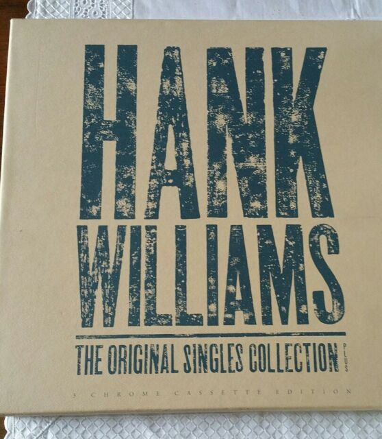 HANK WILLIAMS The Original Singles Collection RARE 3 Cassette BOX SET 847 194-2