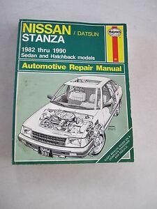 haynes 981 automotive repair manual book for 1982 1990 nissan rh ebay com Haynes Repair Manual 1991 Honda Civic Haynes Repair Manual 1991 Honda Civic