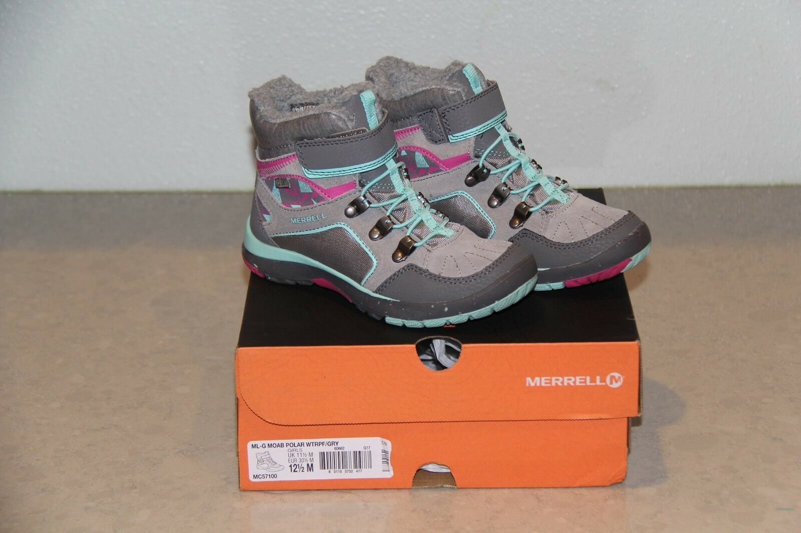 merrell size 12.5 inch