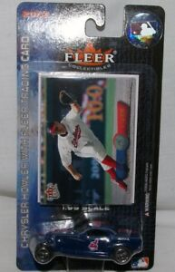Cleveland Indians Jim Thome 2002 CHRYSLER HOWLER plus trading card SCALE 1:55