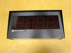 Vorne-Industries-77-256M-12S-00-4-DISPLAY-4DIGIT-DIGITAL-NEW