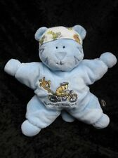 Harley Davidson Motorcycles Baby Blue Plush Tiger Born to Ride Kids Preferred
