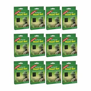 Coghlan/'s No-See-Um Head Net Ultra-Fine Mesh Mosquito Netting 4-Pack