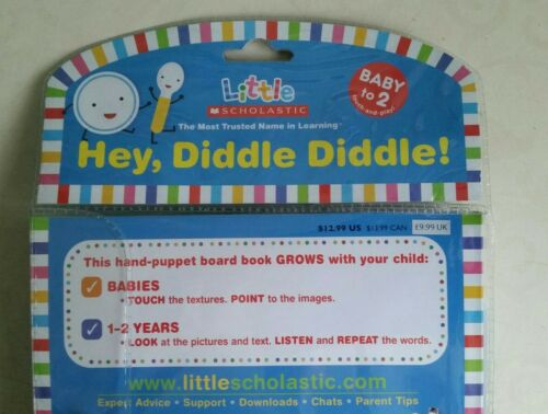 Hey Diddle Diddle Jill Hand Puppet Books by Ackerman
