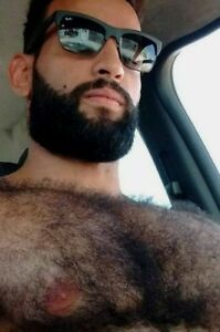 Hairy middle eastern men