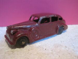 Dinky Toys Ancien Superbe Buick Viceroy Marron Bon Etat #39d Sans Boite 1/43