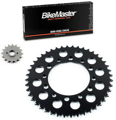 Factory Spec Black 525x120 O-Ring Drive Chain /& 16//44 Sprockets compatible with Honda Shadow 600 VT600 VLX