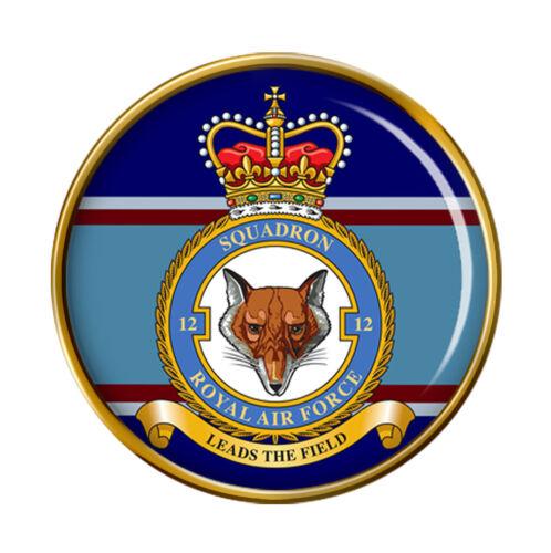 12 Escadron Raf Broche Badge