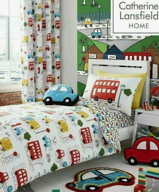 Trucks Junior Toddler Set Quilt Pillow Duvet Covers Cars