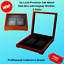 De Luxe Wood Certified US Mint Coins Storage Box Display Case NGC PCGS 2 Slabs