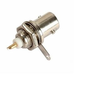 BNC  Female Chassis   Panel Mount  Socket Coaxial Connector  UK Seller - <span itemprop='availableAtOrFrom'>Essex, United Kingdom</span> - BNC  Female Chassis   Panel Mount  Socket Coaxial Connector  UK Seller - Essex, United Kingdom