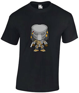 Predator-Masked-Alien-Cartoon-Sci-Fi-Horror-Movie-T-shirt