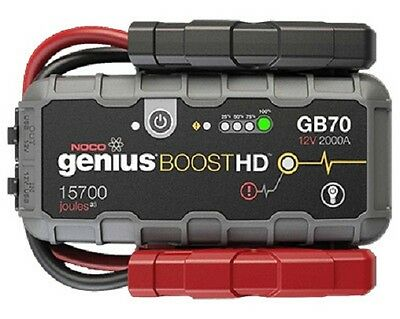 NOCO GENIUS Boost GB70 Jump Starter Batterie Starthilfe 12V Auto Motorrad KFZ