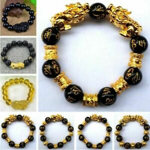 Wealth-and-Good-Luck-Bracelets-for-Men-Women-Obsidian-Bead-Chinese-Lucky