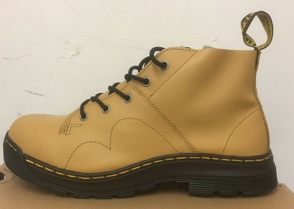 DR. MARTENS Chiesa-DS in Tan SOFTY T Stivali in Chiesa-DS Pelle Misura 928745