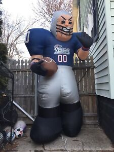 7d1f93276 Image is loading NFL-New-England-Patriots-Apparel-Inflatable-Yard-Tiny-