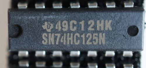 NOS TI  SN74HC125N  DIP14   Qty 1    Ships in USA Tomorrow!