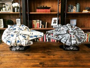 LEGO-Kessel-Run-Millennium-Falcon-75212-amp-LEGO-75105-Display-Stand-Star-Wars