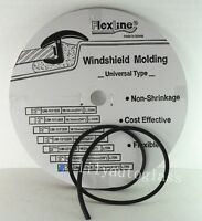Flexline Windshield Auto Glass Universal Inverted Molding Trim Rubber 14.5mm 15'