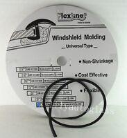 Flexline Windshield Auto Glass Universal Inverted Molding Trim Rubber 14.5mm 15'