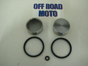 AJP-Trials-Bike-2-Pot-Front-amp-Rear-Brake-Caliper-Kit-FULL-KIT-32mm-pistons