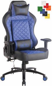 FidèLe Fauteuil De Bureau Rapid Xm Similicuir Fonction Massage Chaise Bureau Réglable Magasin En Ligne