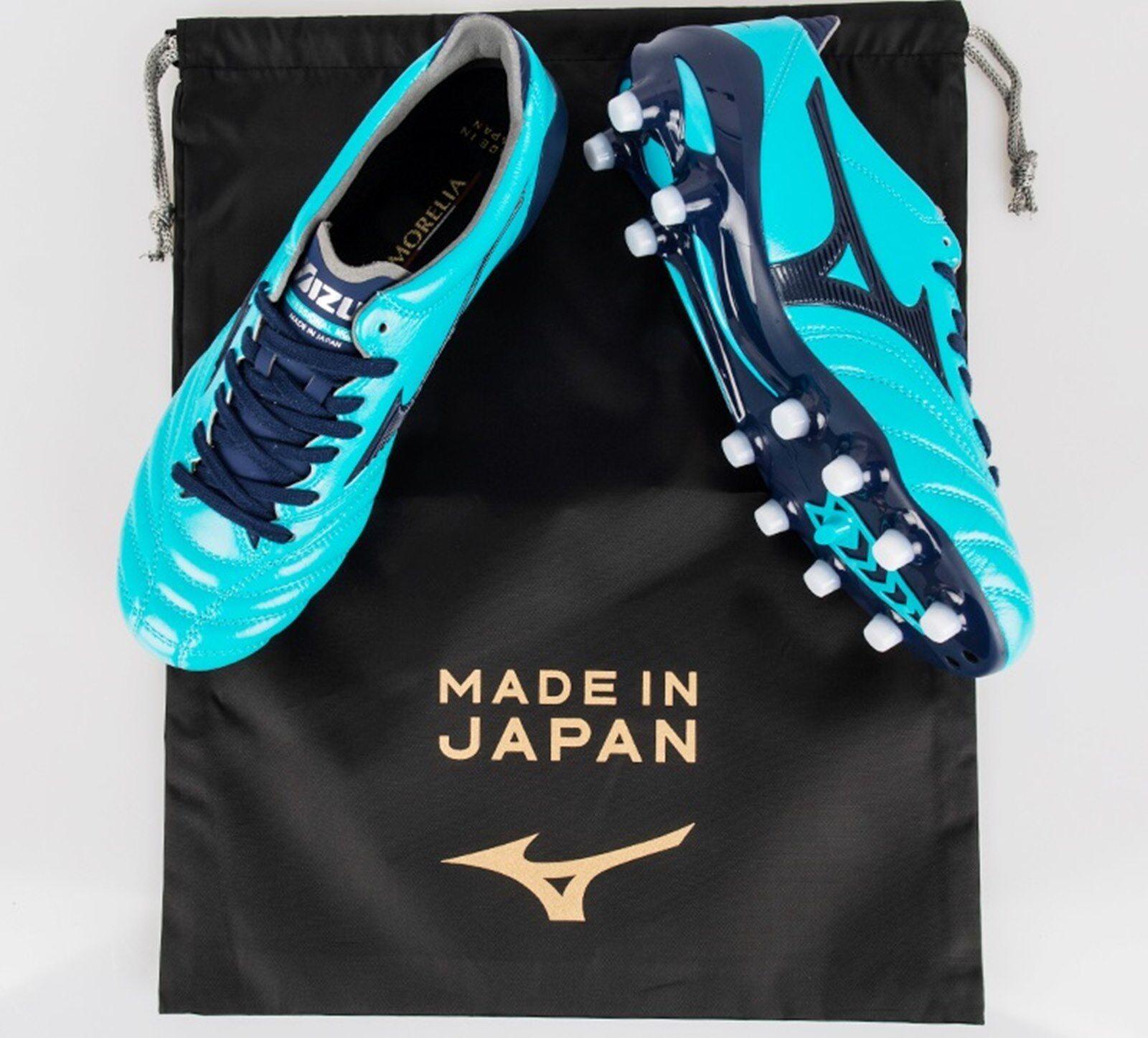 Mizuno Men Morelia Neo II Japan Cleats Soccer Football Schuhes Spike P1GA185014