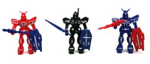 6x robot avec Accessoires bouclier et épée-Mitgebsel Enfants Fête D/'anniversaire