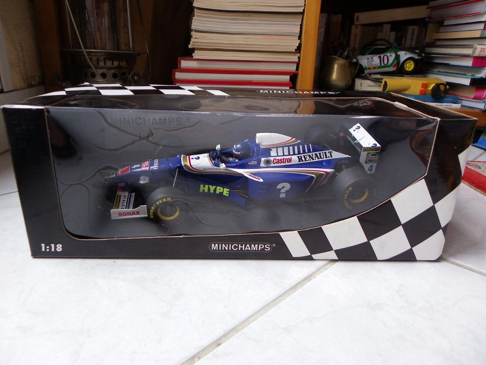 Williams Renault FW19 Heinz Harald Frentzen  18 Minichamps 1997 Formule 1 F1