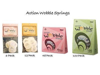 48//Pkg 100//Pkg ~ NIP 12//Pkg Action Wobble Spring CHOOSE ONE: 6//Pkg
