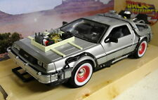 Welly 1/24 Scale Delorean Time Machine Back to the Future part 3 model car