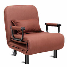 Giantex HW54759CF 26.5 inch Convertible Sofa Bed - Coffee