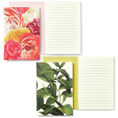 NEW Kate Spade Notebook 2 Set Floral