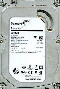 Z1E0  SEAGATE SATA 2TB CC82 ST2000DM001 TK 9YN164-505