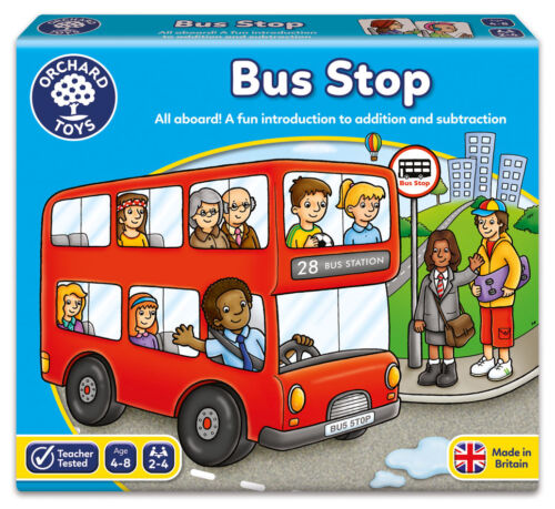 A Fun Addition And Subtraction Game Orchard Toys Bus Stop NEW