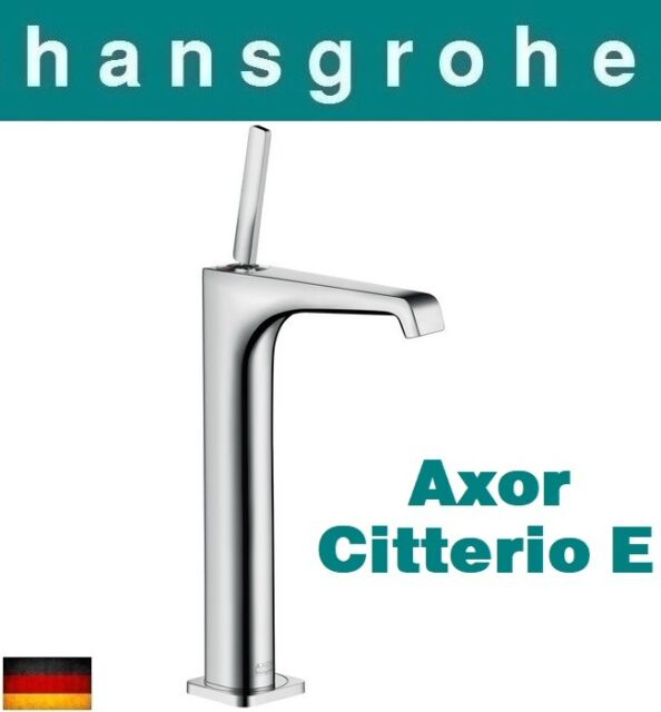 Hansgrohe AXOR Citterio E 36104000 Highriser Basin Mixer 250 for ...