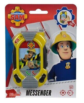 Sam Rescue Simba 109252107 - Neu Ca. 20cm Feuerwehrmann Sam Plüschfigur